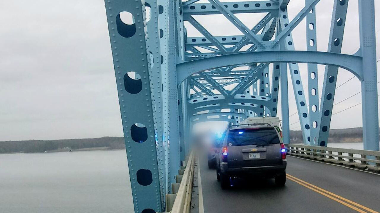 Norris Bridge reopens following 'police activity'