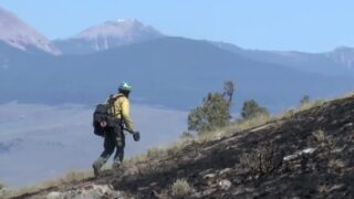 Firefighters continue battling wildfire near Bannack