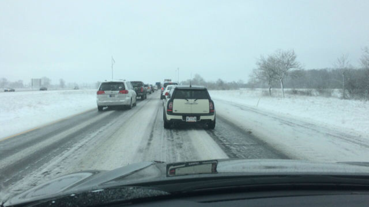 INDOT warns of difficult driving conditions