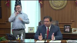 Gov. Ron DeSantis issues 'stay at home' order for Florida