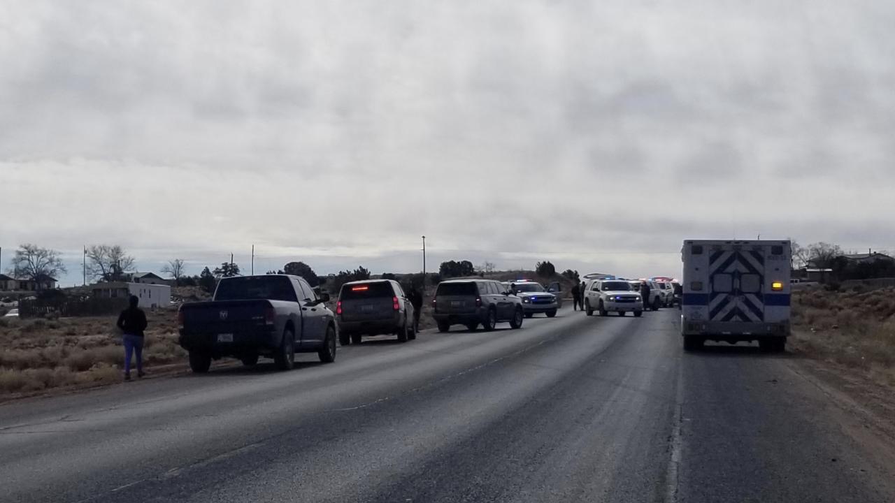 Police shooting on Navajo Nation