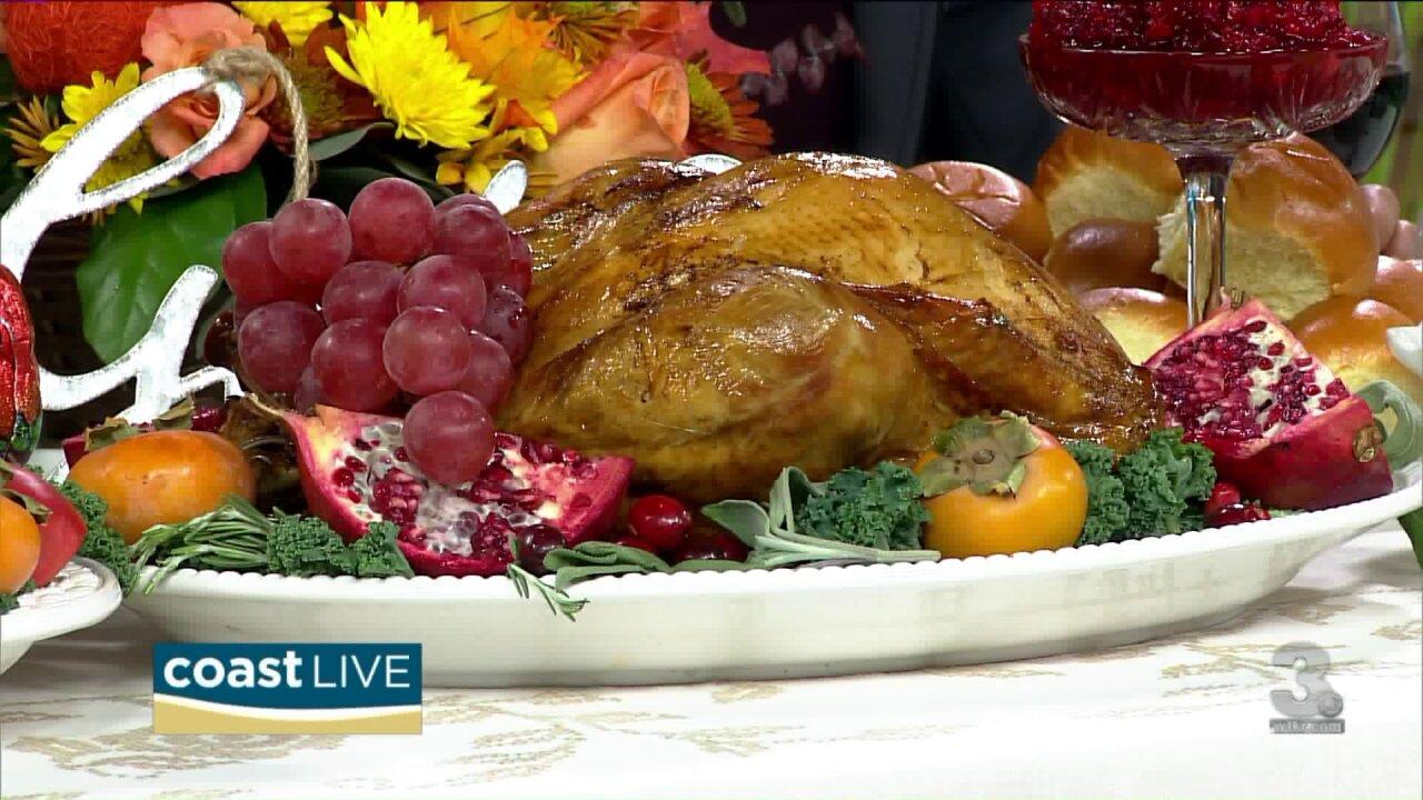 The Fresh Market's take on Thanksgiving on CoastLive