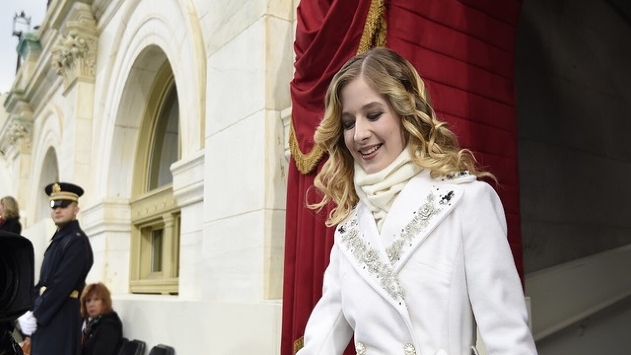 Jackie Evancho tweets Trump on transgender policy