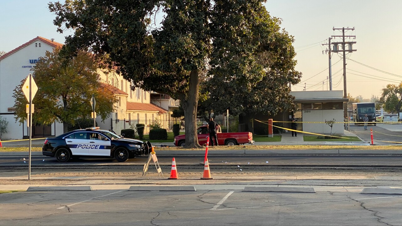 BPD involved in a shooting in Downtown Bakersfield