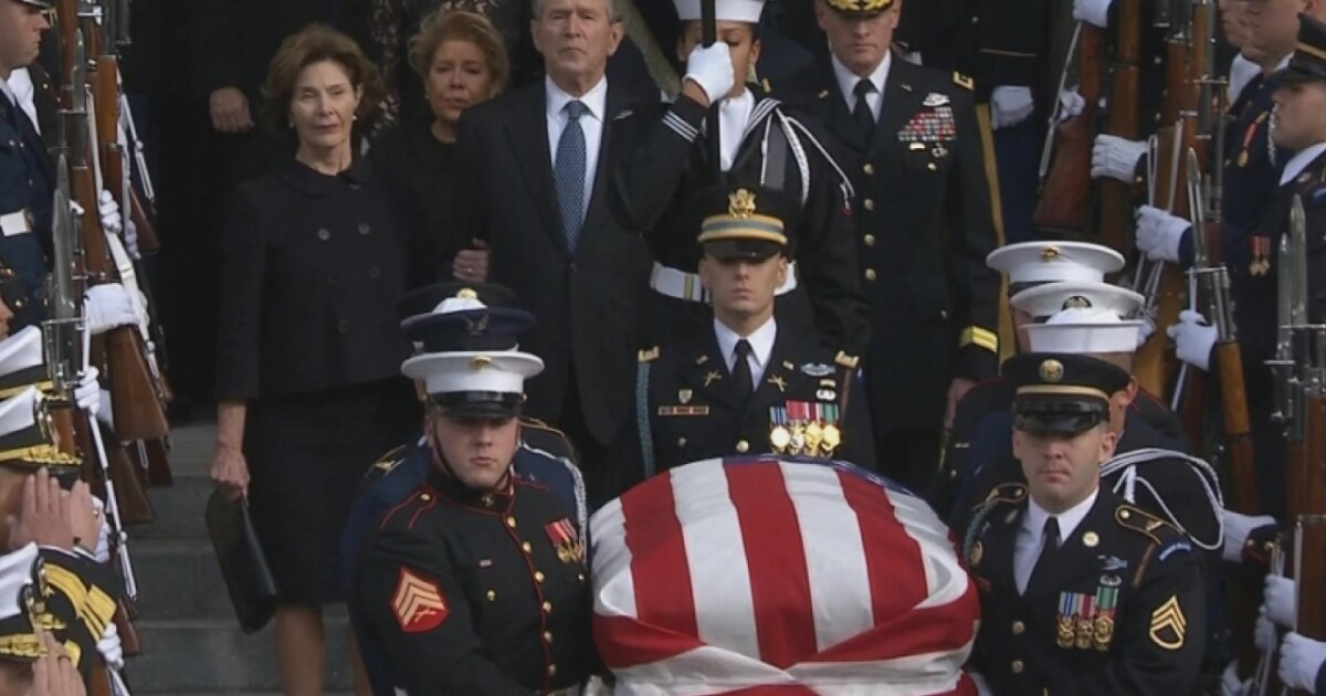 George H W Bush A Nation Mourns
