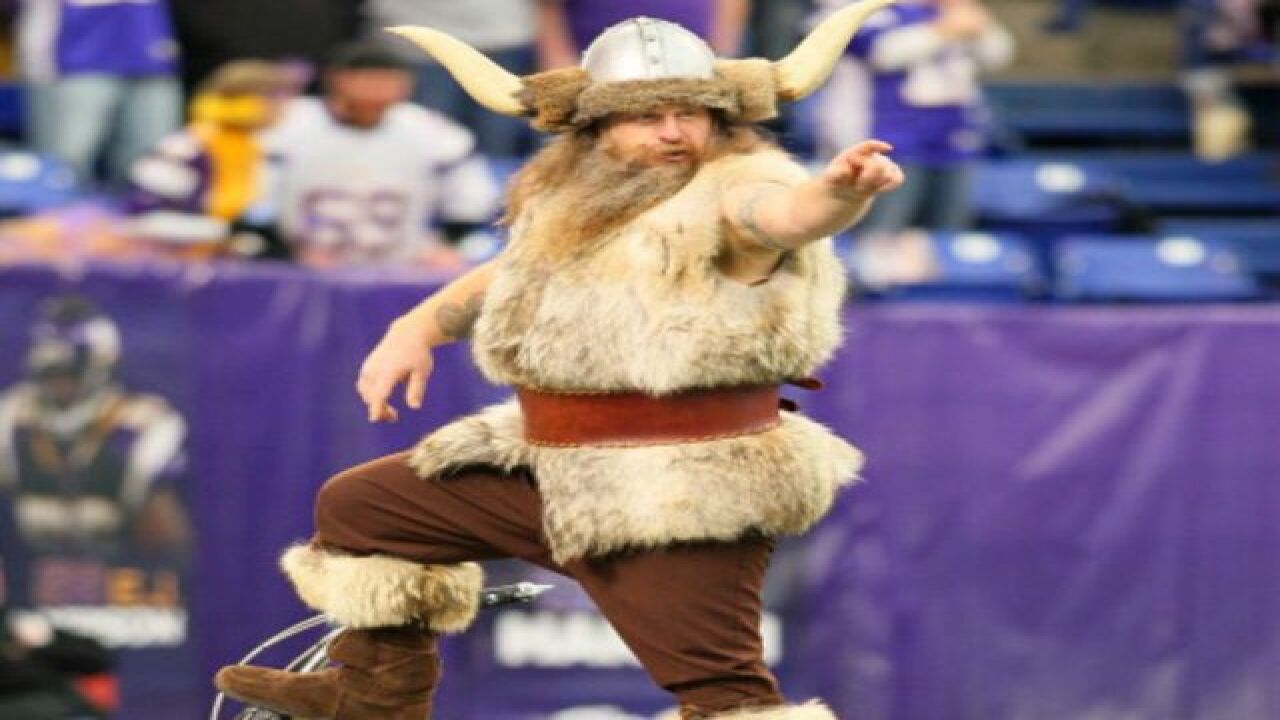 Vikings Mascot Hopes To Reconcile With Team