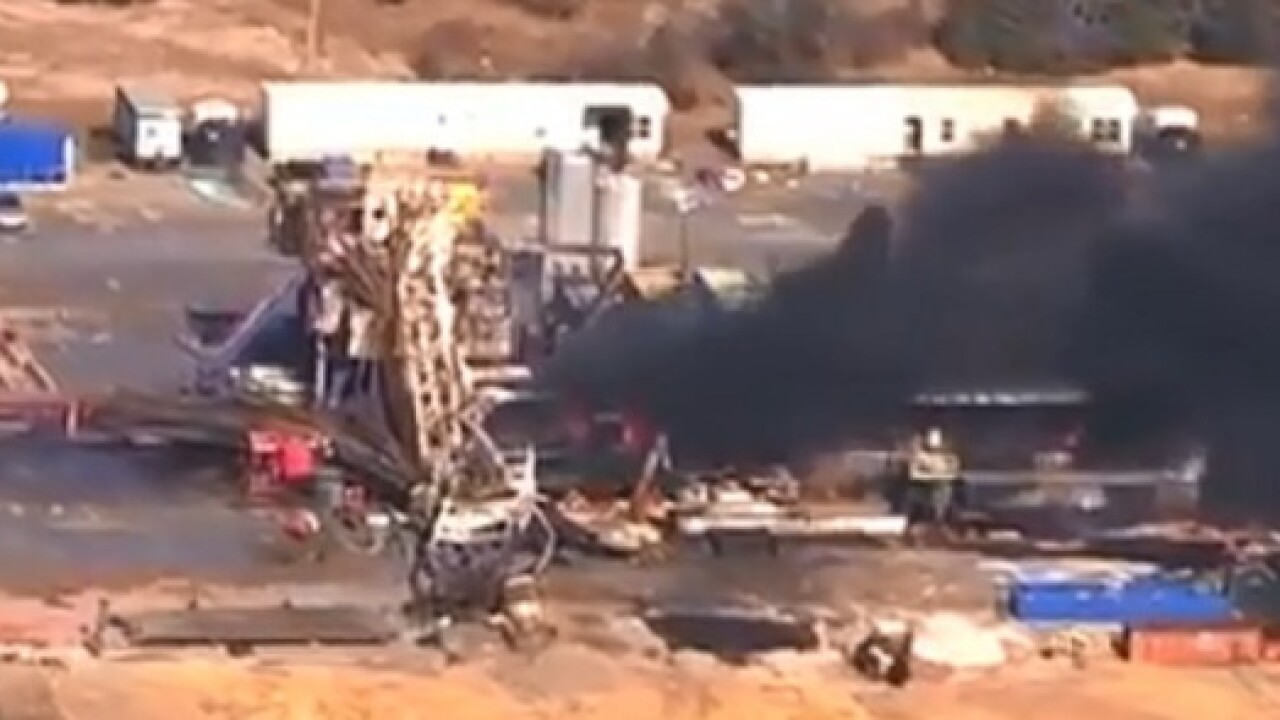 Lawsuit filed over fatal gas rig explosion in Quinton