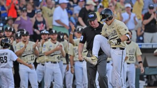 College World Series - Michigan v Vanderbilt - Game Three