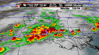 Another stormy day Saturday; Flash Flood Watch continues