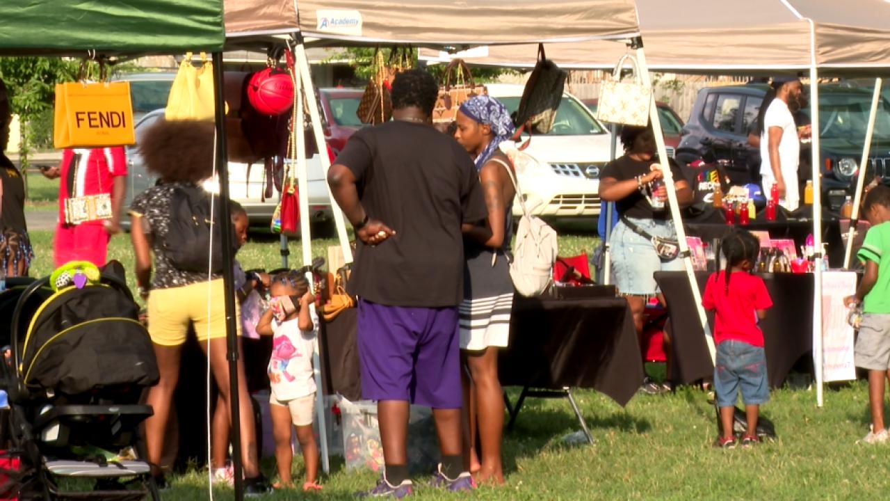 Community gathers for 'Jefferson Street Summer Kickback'