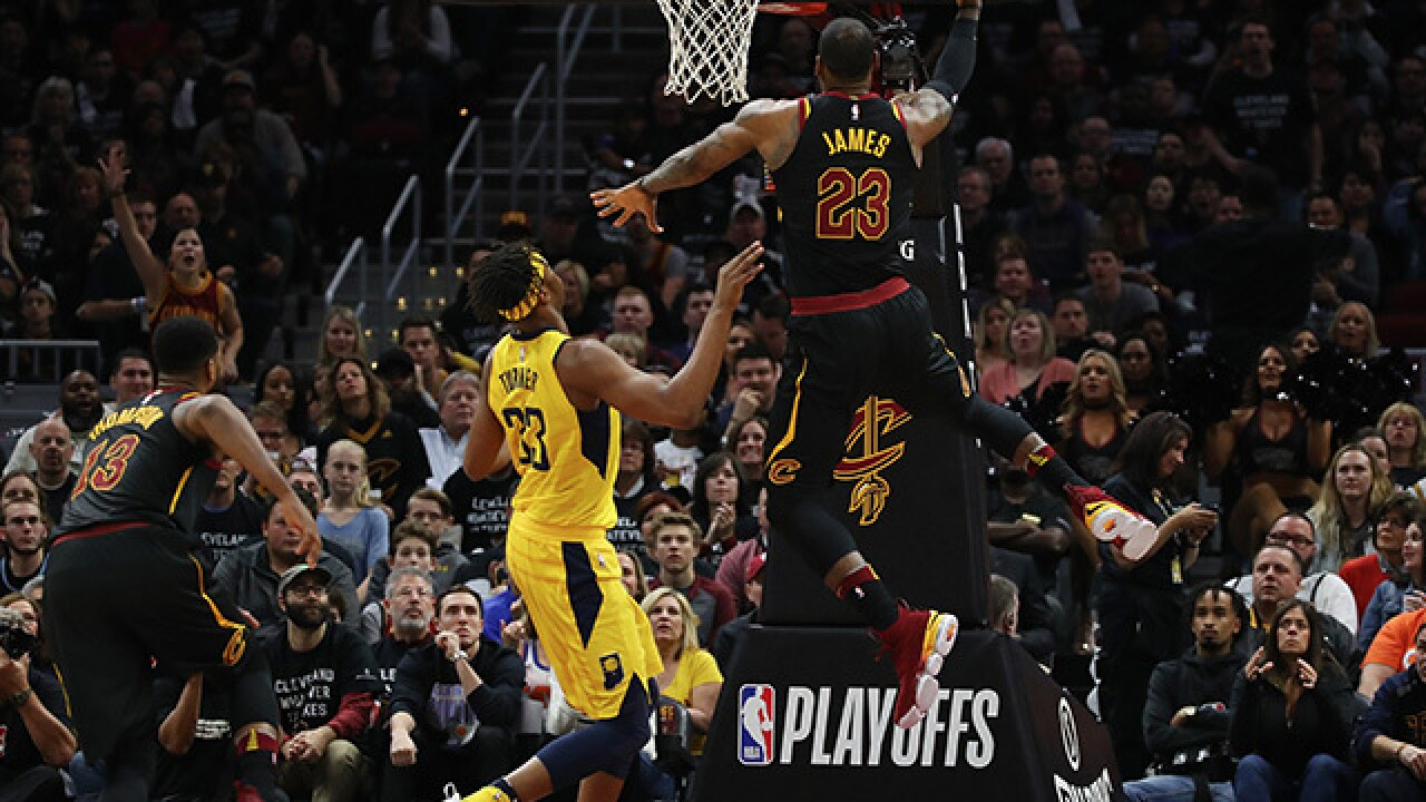 7th heaven: LeBron carries Cavaliers past Pacers in Game 7