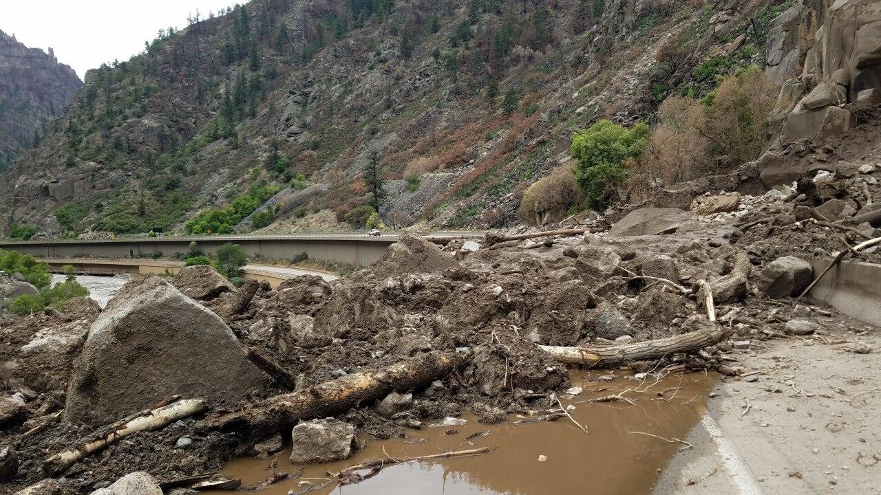 i70 glenwood canyon closure
