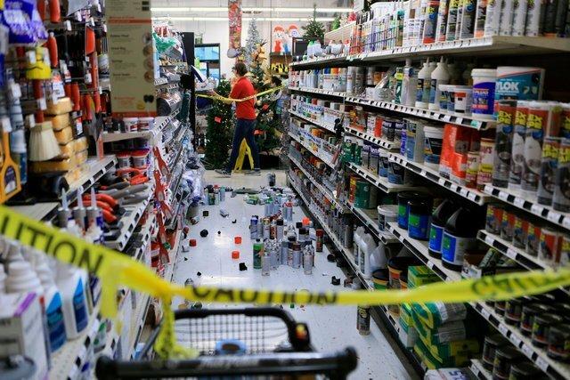 Photos: Earthquake causes major damage in Alaska