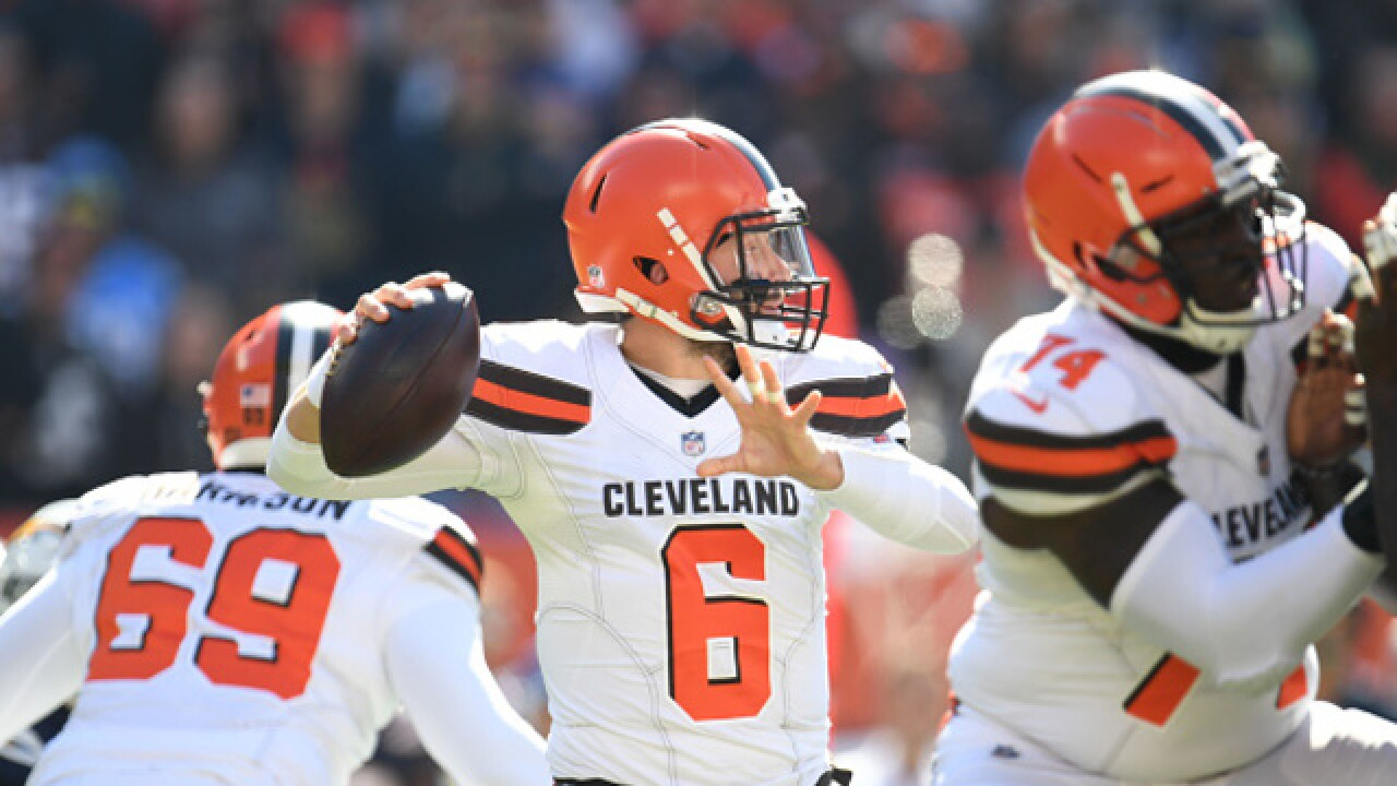 PHOTOS: Cleveland Browns fall to Los Angeles Chargers, 38-14