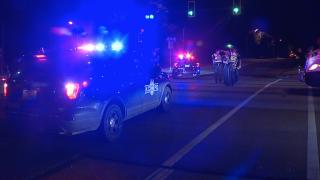 75th and 71 pedestrian crash