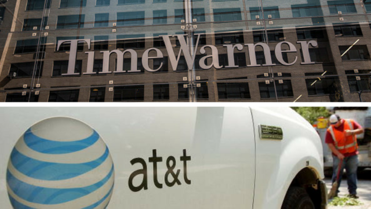 AT&T to buy Time Warner for $856B, reports say