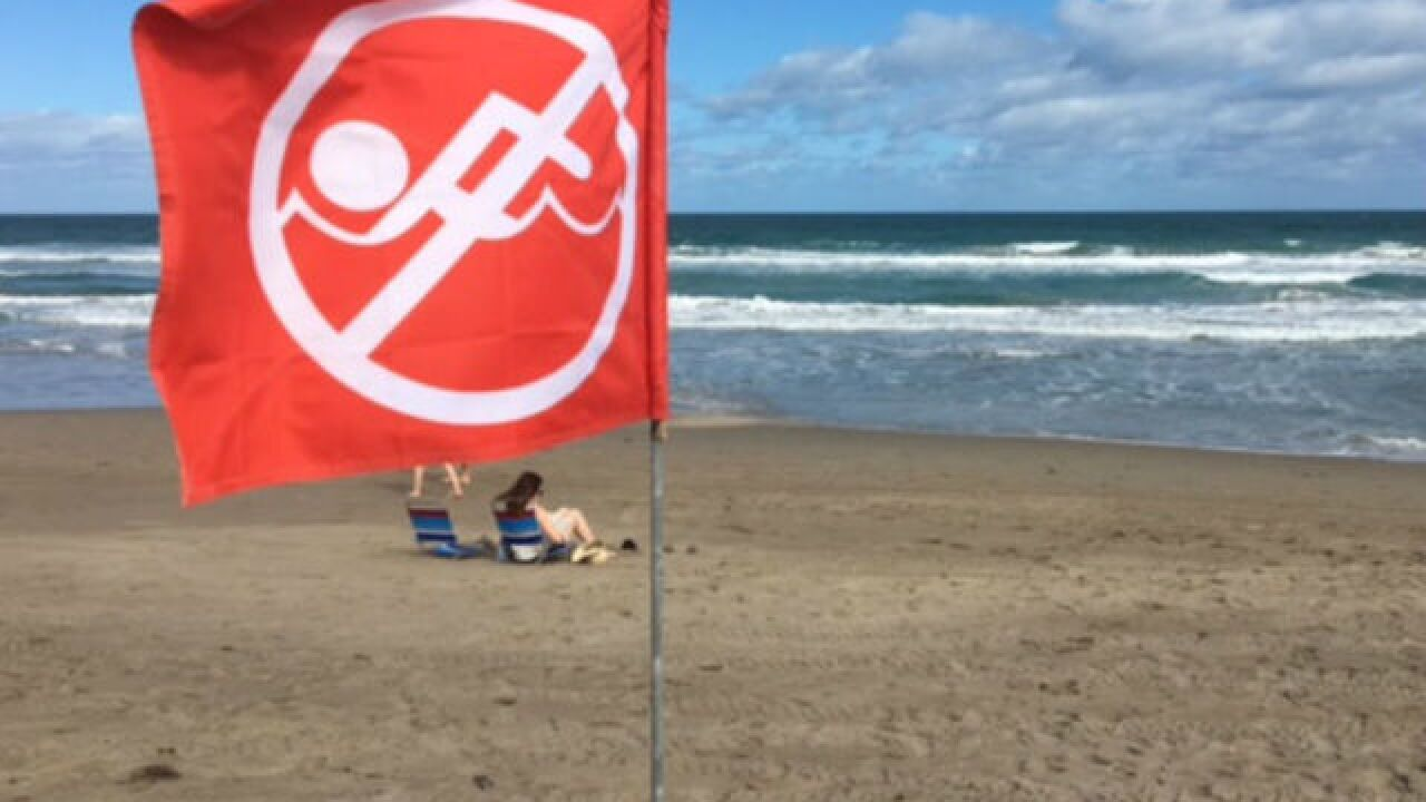 Woman drowns in strong rip current off Jupiter