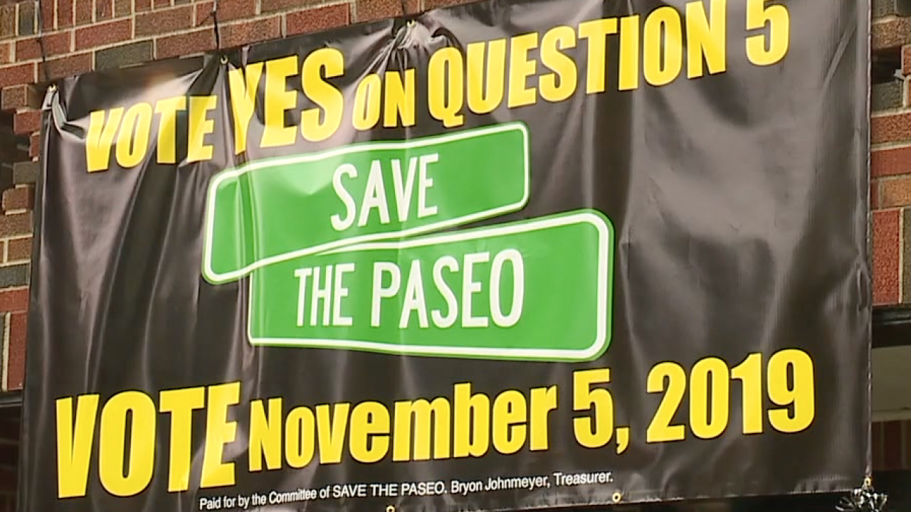 Save the Paseo sign elections