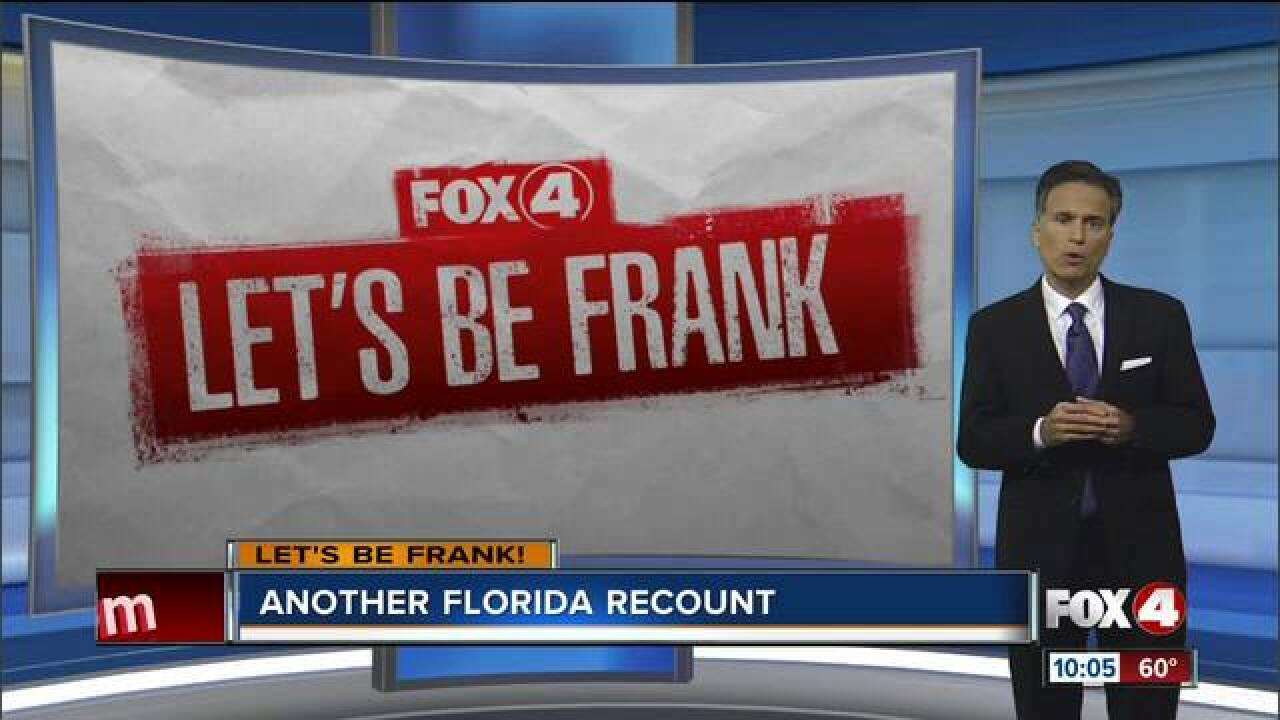 Let's Be Frank: Florida in the election bullseye