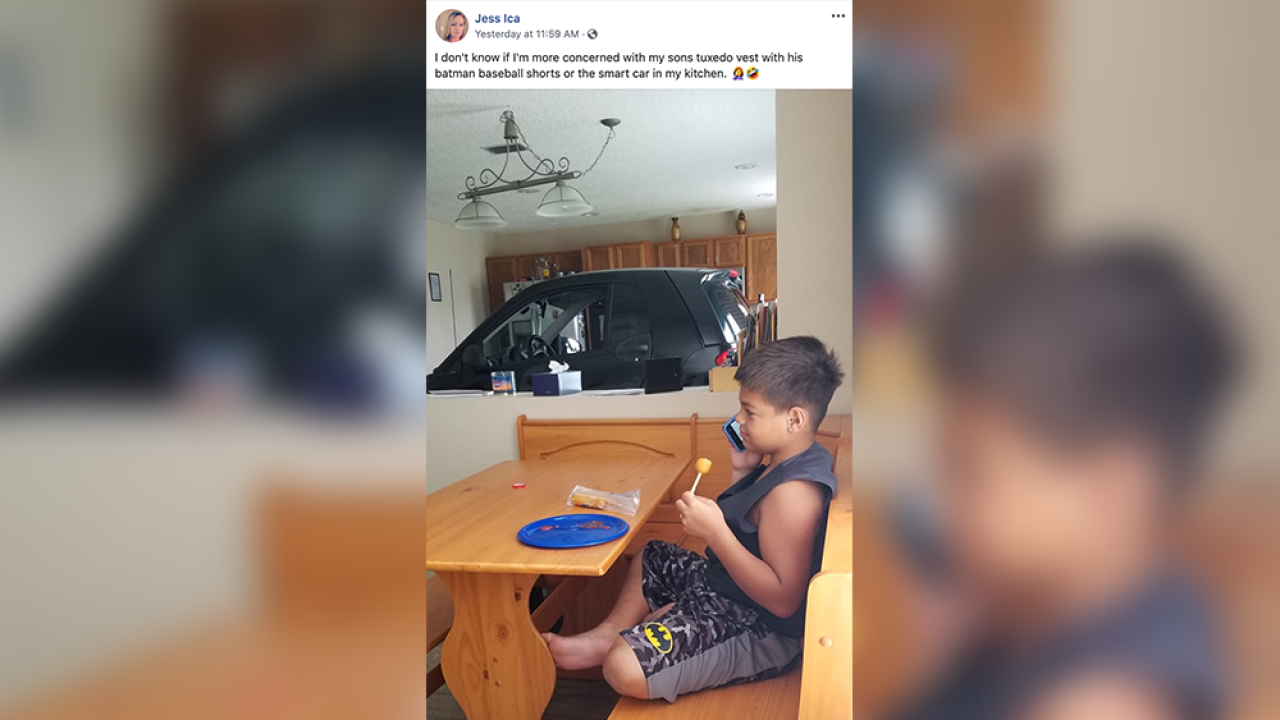 Florida man parks Smart Car in kitchen, said he didn't want Hurricane Dorian to blow it away