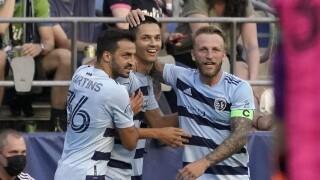 MLS Sporting Kansas City Sounders Soccer