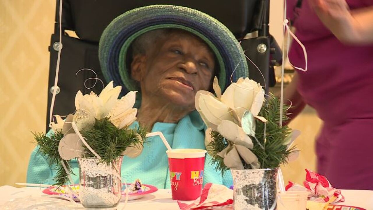 110-year-old Virginia woman credits not smoking and drinking for longevity