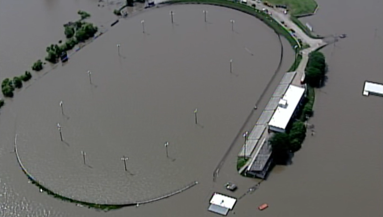 lakeside speedway flooded 6-3-2019