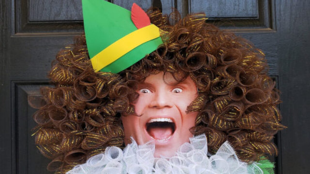 You Can Buy Buddy The Elf Wreaths To Decorate Your Front Door This Holiday Season