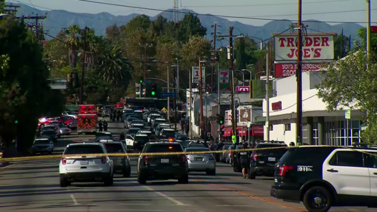 Trader Joe's employee caught in standoff, shootout was killed by officer's bullet, LAPD says