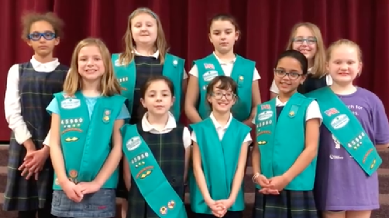 WATCH: Cute Girl Scouts explain how they'll make world a better place with huge Thin Mint order
