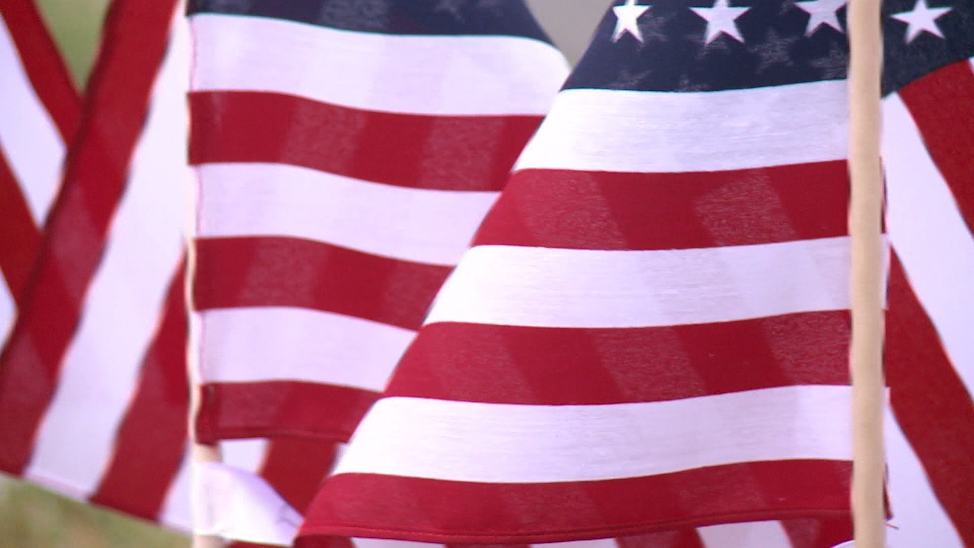 Photos: These flags in Henrico honor 75th anniversary of D-Day