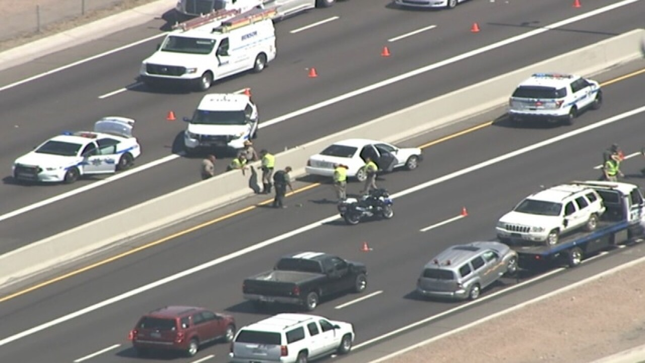 Naked man killed after being hit by car on I-17 - Arizona