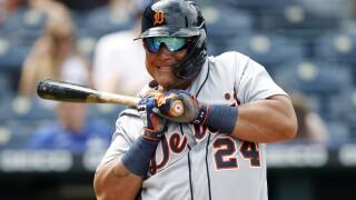 Tigers Royals Baseball Miguel Cabrera
