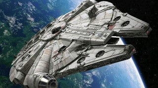 Attention, scruffy-looking nerf herders: Millennium Falcon to dock in Highland Heights this weekend
