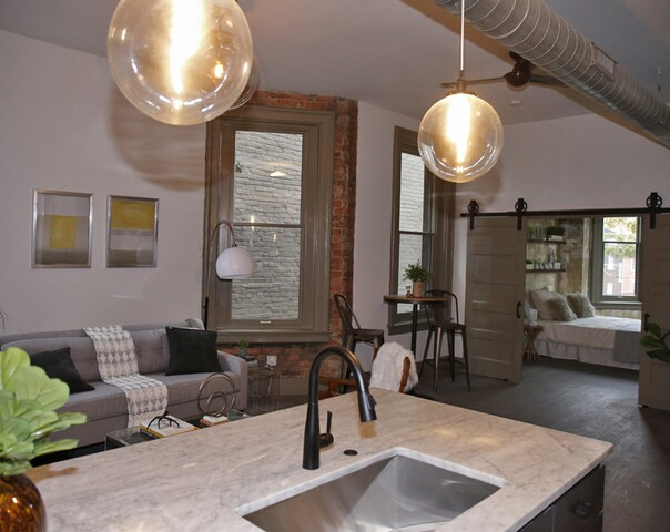 Home Tour: 1890 tenement in Over-the-Rhine blends old and new into rustic-urban vibe