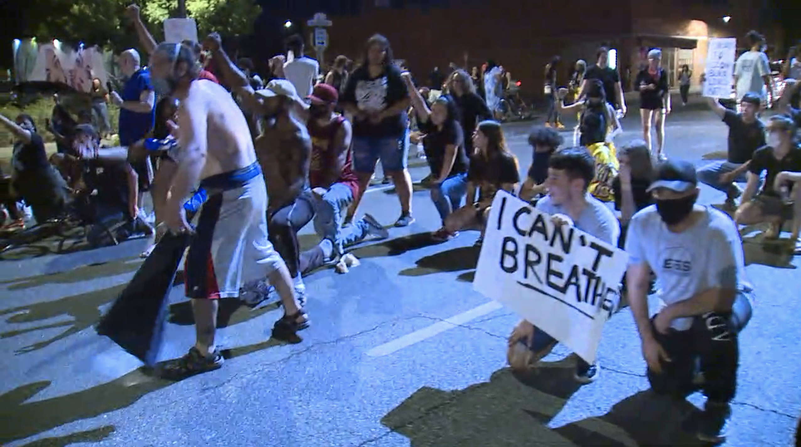 PHOTOS: Protesters rally in downtown Phoenix amid George Floyd's and Dion Johnson's death