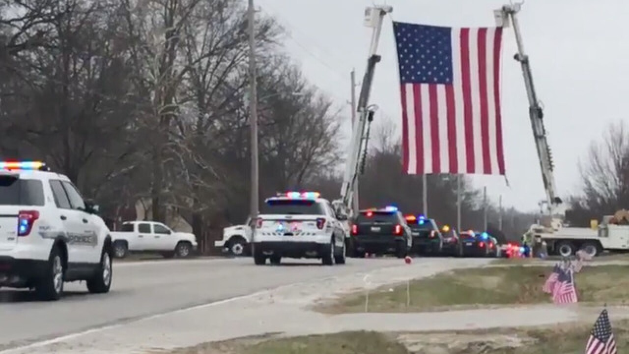 Funeral held for Ofc. Christopher Ryan Morton