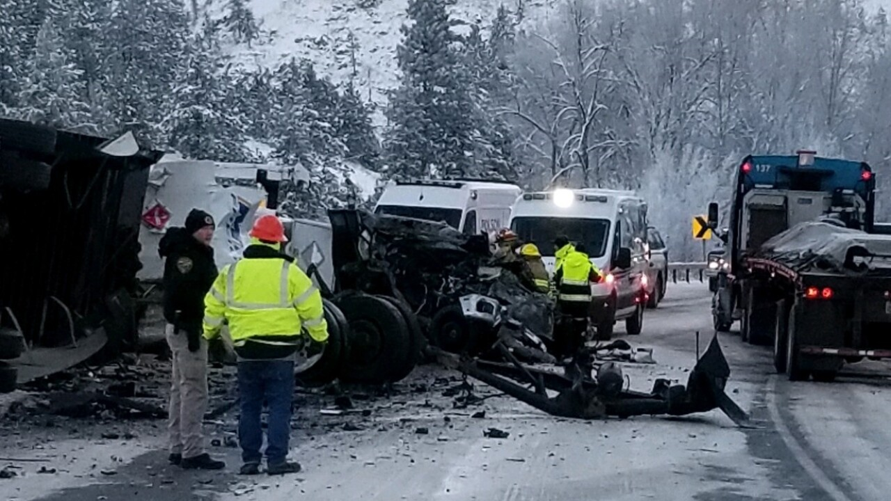 Highway 93 Ravalli Accident