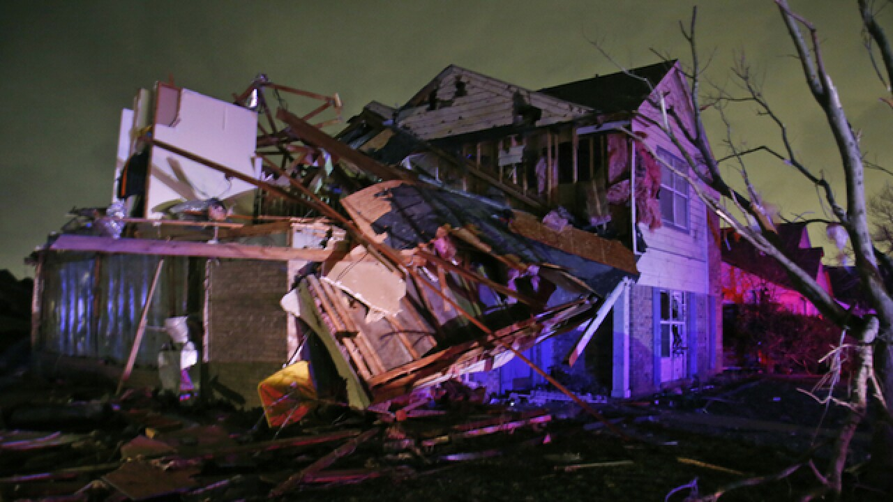 Texas storms, tornadoes kill at least 11 people