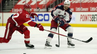 Avs bring back defenseman Patrik Nemeth in trade with Wings