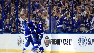 PHOTOS | Lightning beat devils in Game 1