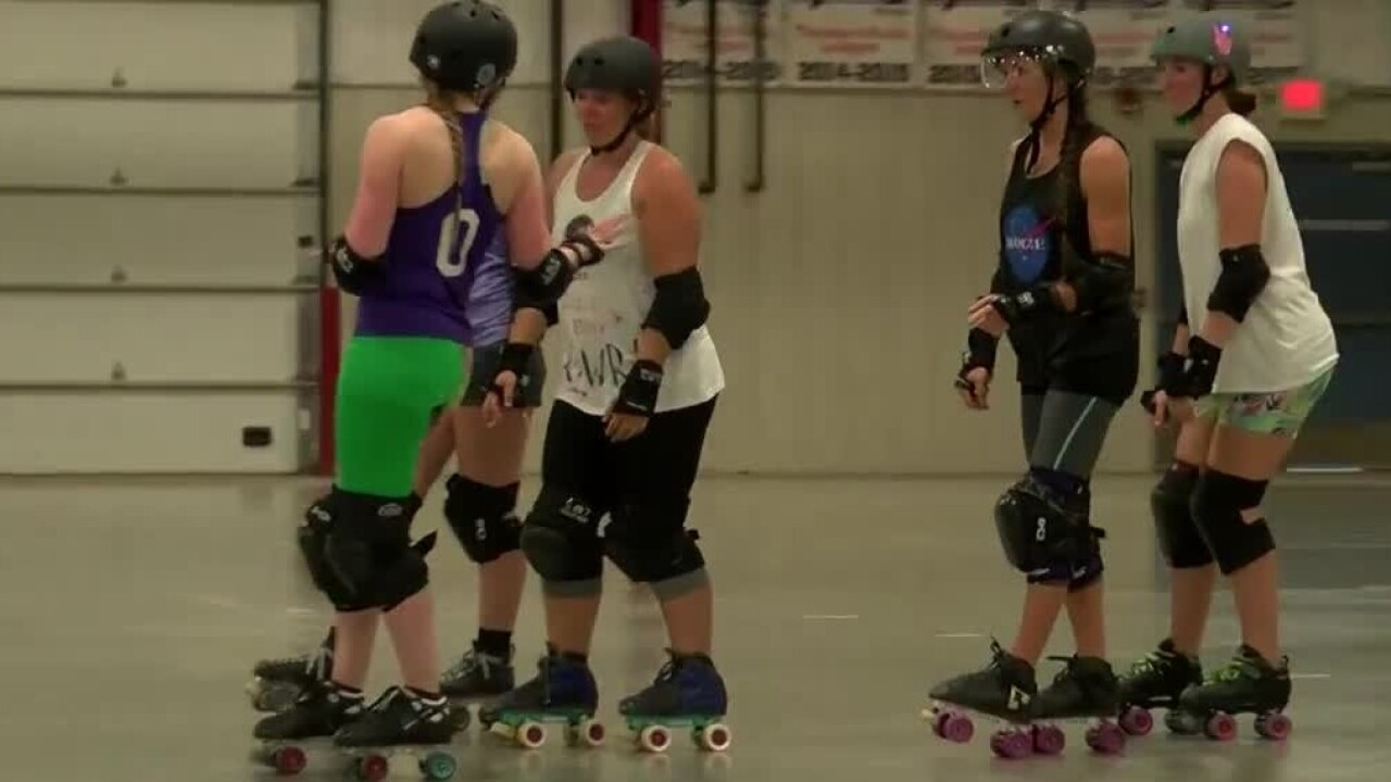 Gallatin Roller Derby preps for weekend bout