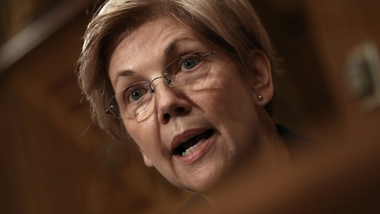 Elizabeth Warren: Time to use 25th Amendment to remove Trump from office
