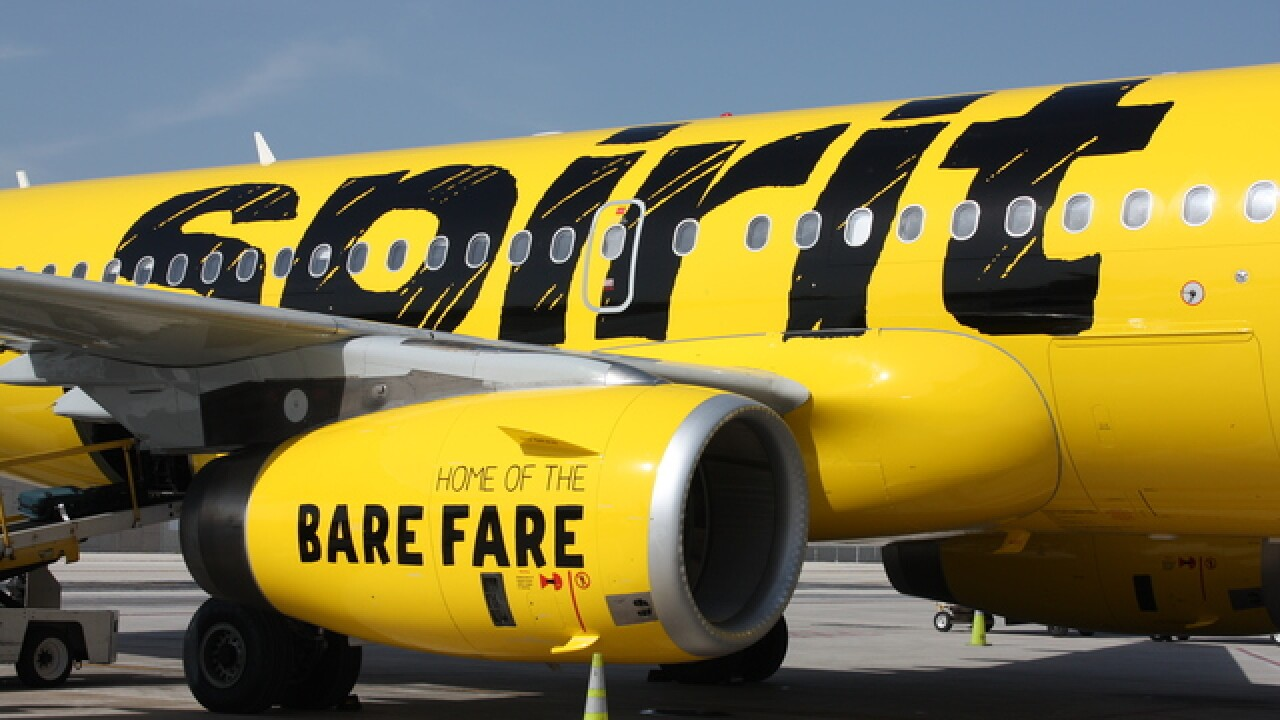 Spirit Airlines announces expansion into Indianapolis