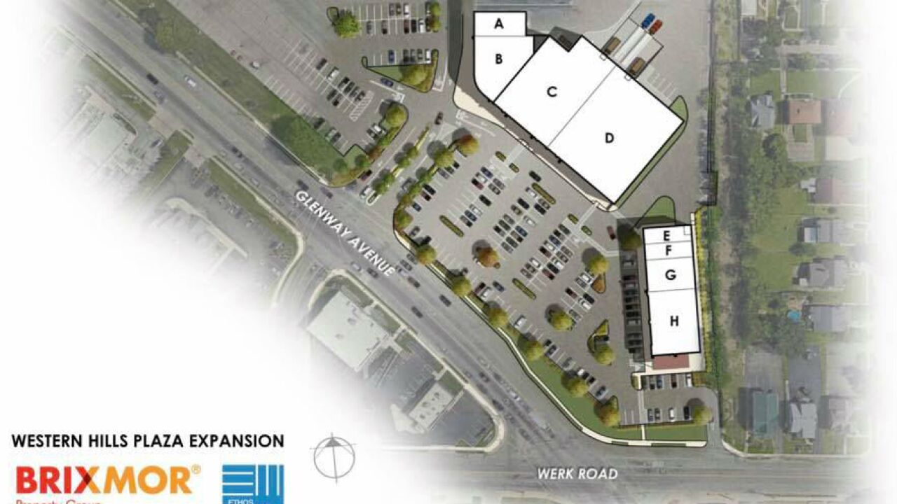 Restaurant, 7 stores to replace Sears at Western Hills Plaza