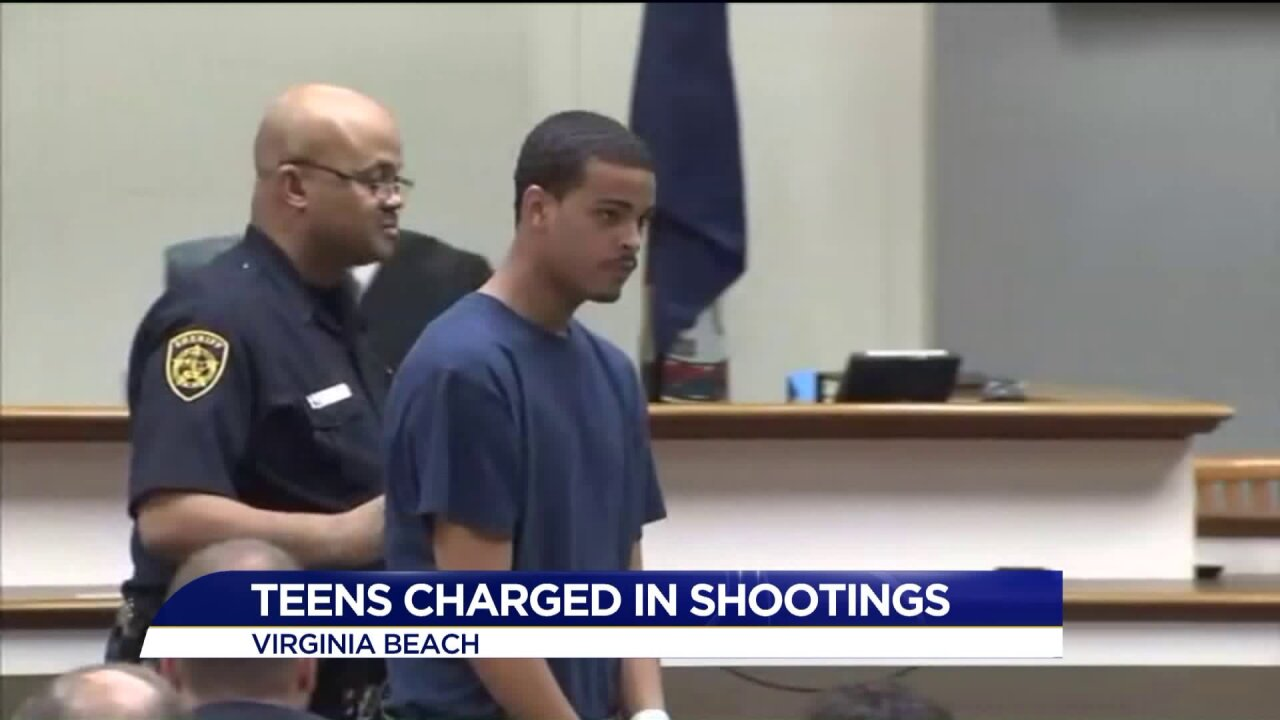 Teens charged with Virginia Beach shooting spree to be charged asadults