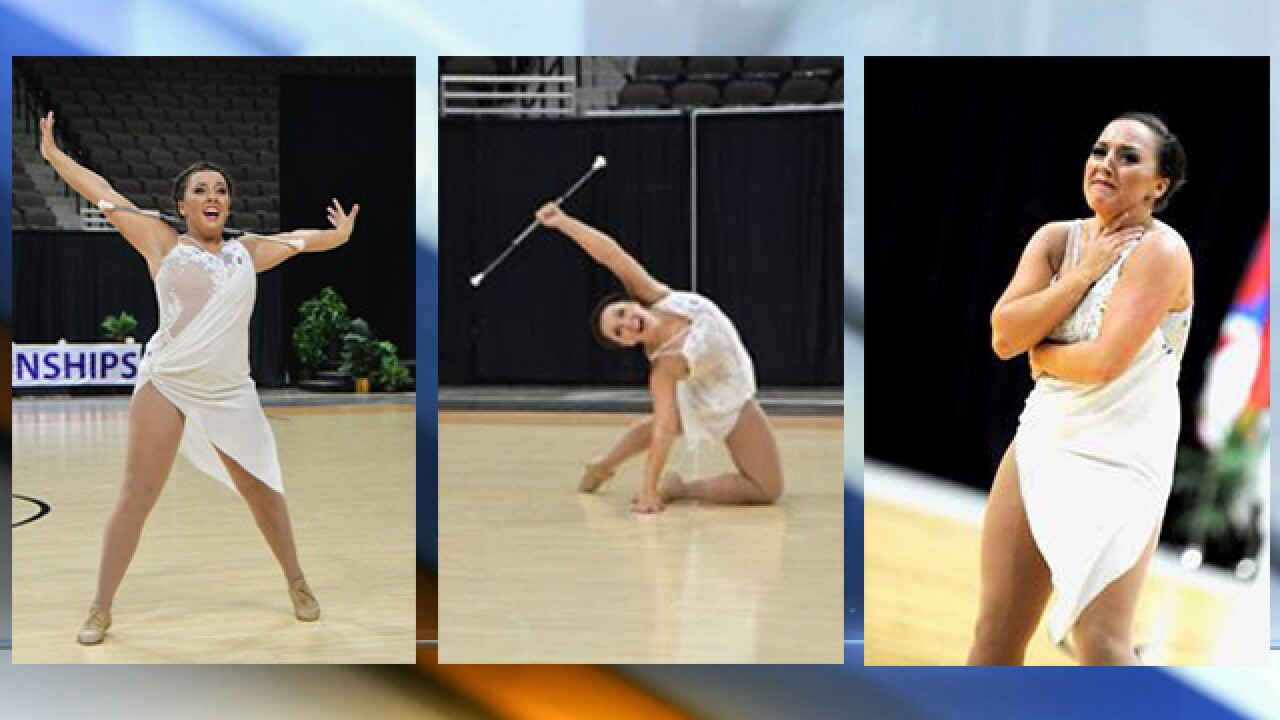 KC native's baton twirling performance earns medal, video goes viral