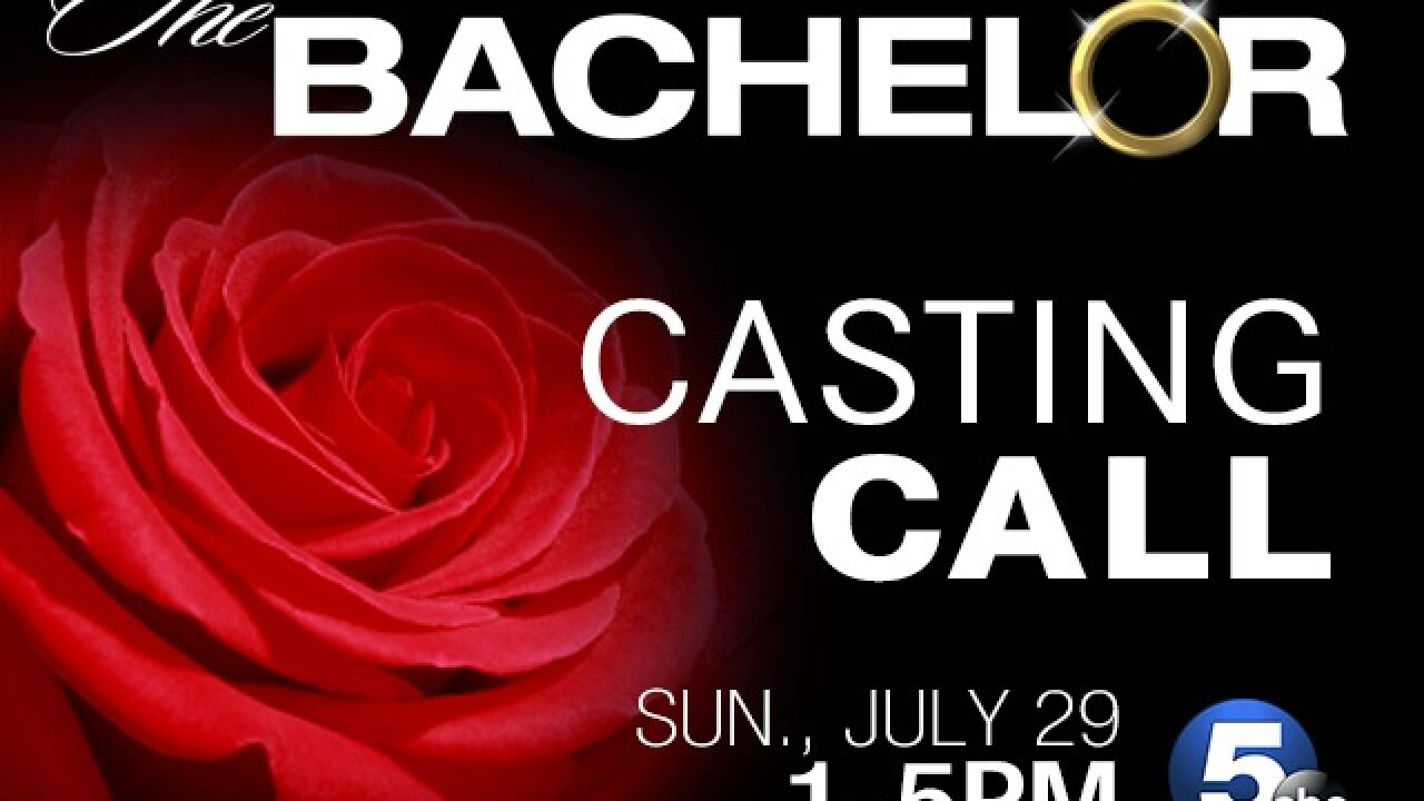 Hey ladies, The Bachelor is coming to Cleveland to find next season's contestants