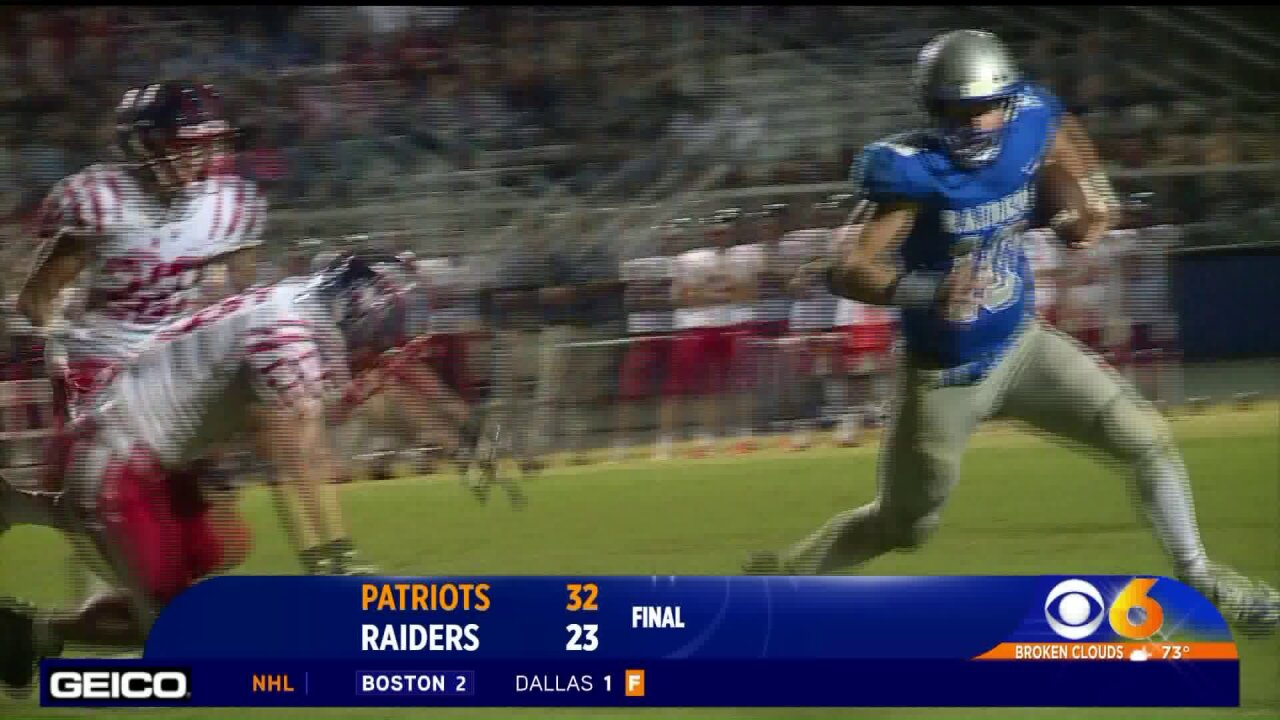 Sikkar's four touchdowns leads Patrick Henry overAtlee