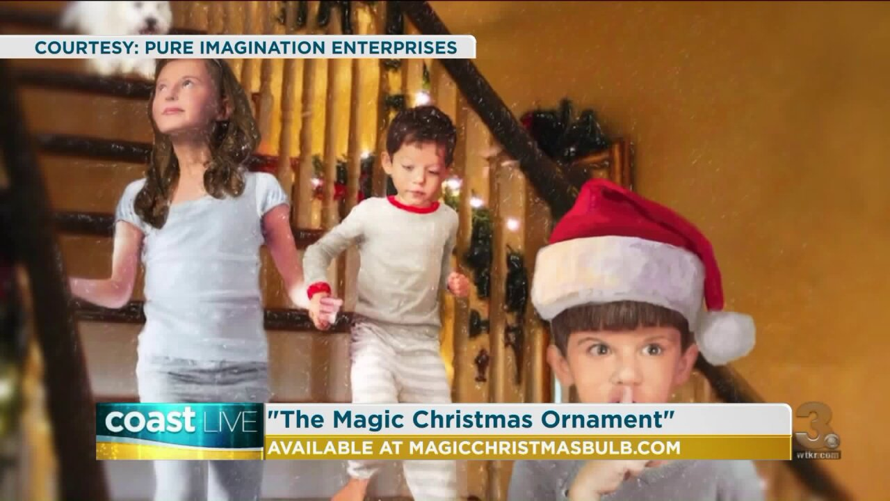 """Talking with the author of """"The Magic Christmas Ornament"""" on CoastLive"""